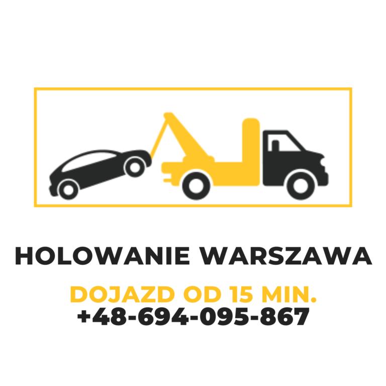 Holowanie Warszawa