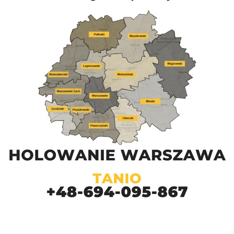 Holowanie Warszawa tanio