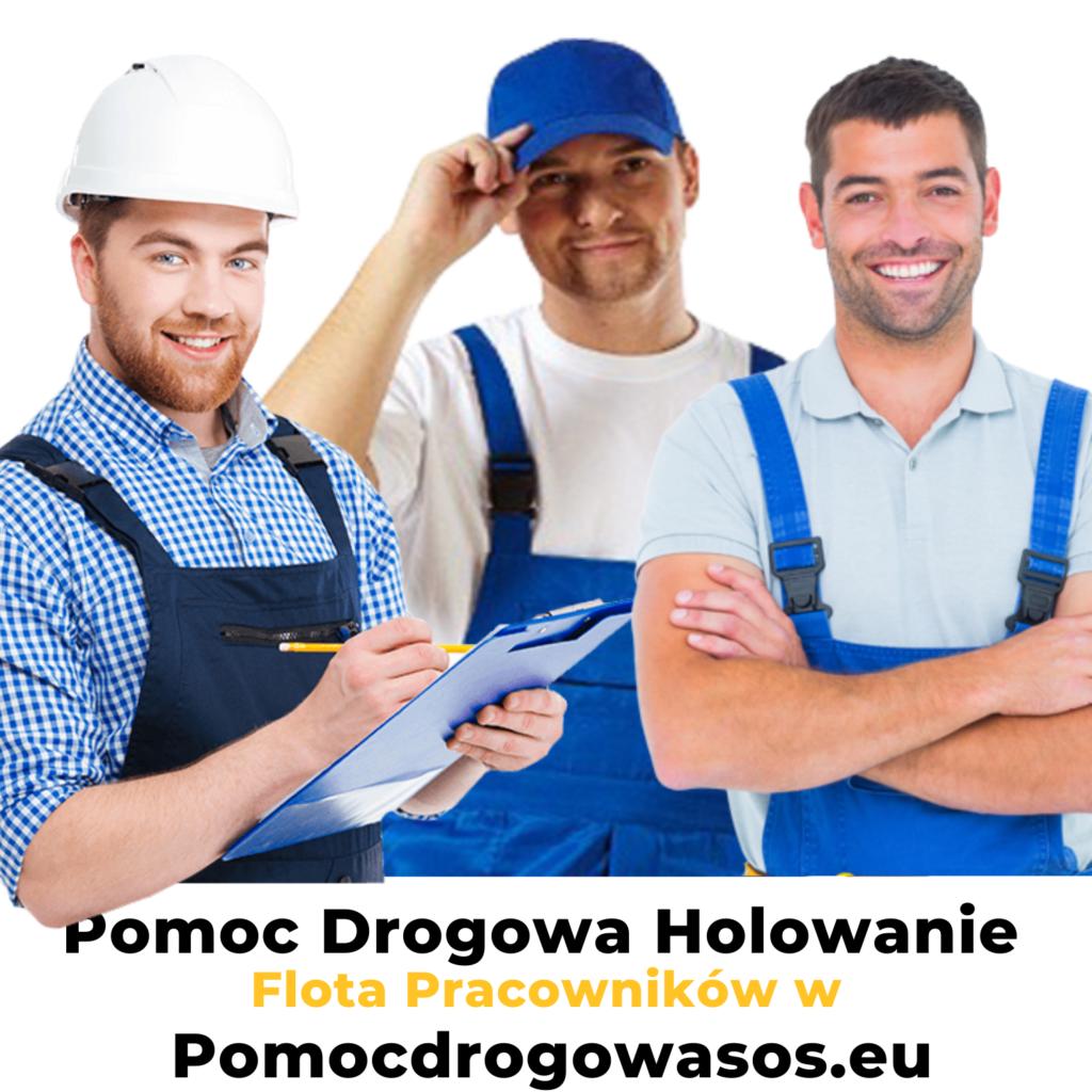 Pomoc drogowa holowanie Warszawa