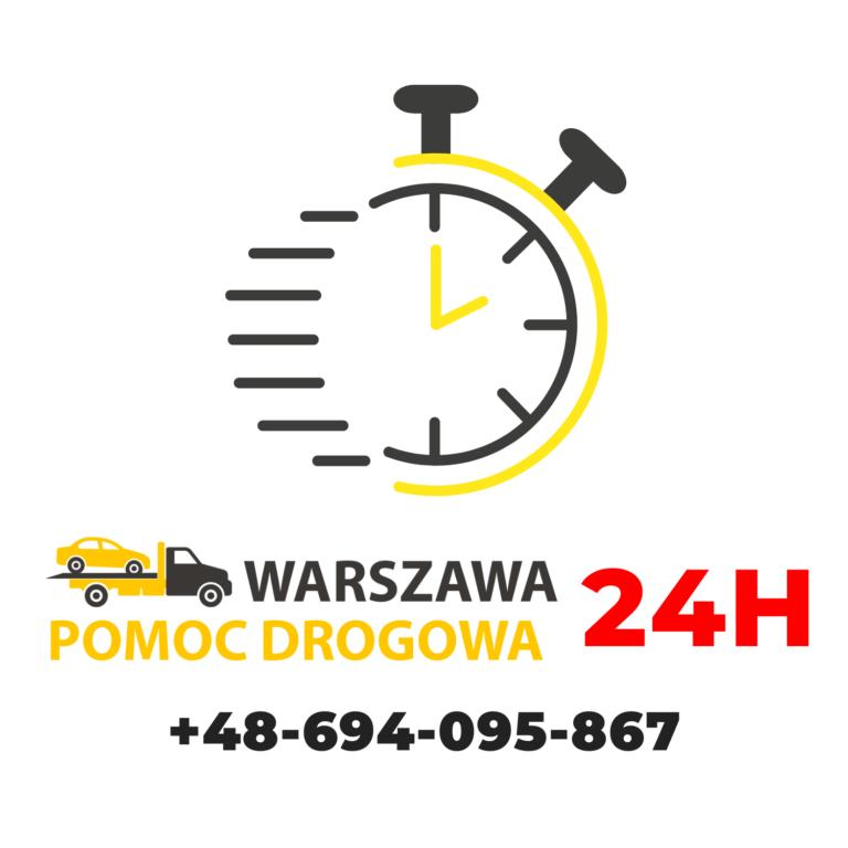 Pomoc Drogowa Warszawa 24H