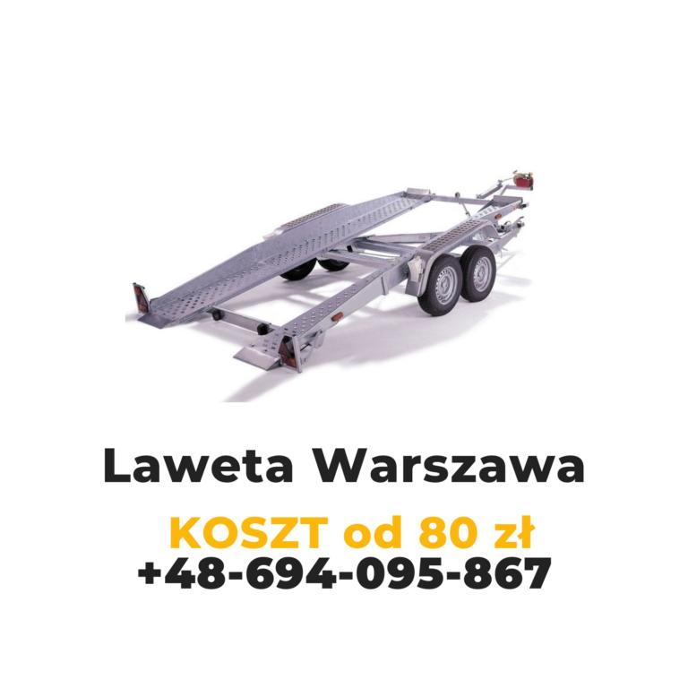 Laweta Warszawa TANIO - DOBRA CENA
