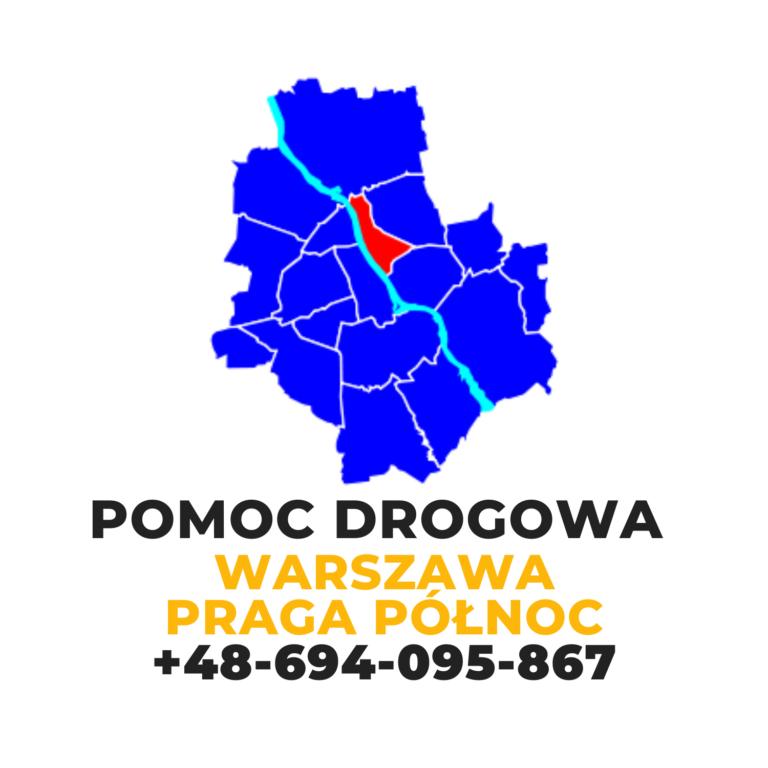 Pomoc drogowa Warszawa Praga Północ