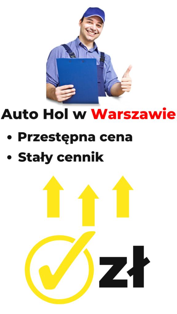 Auto hol Warszawa Cena