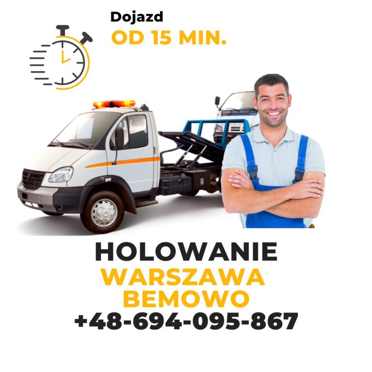 Holowanie Warszawa Bemowo