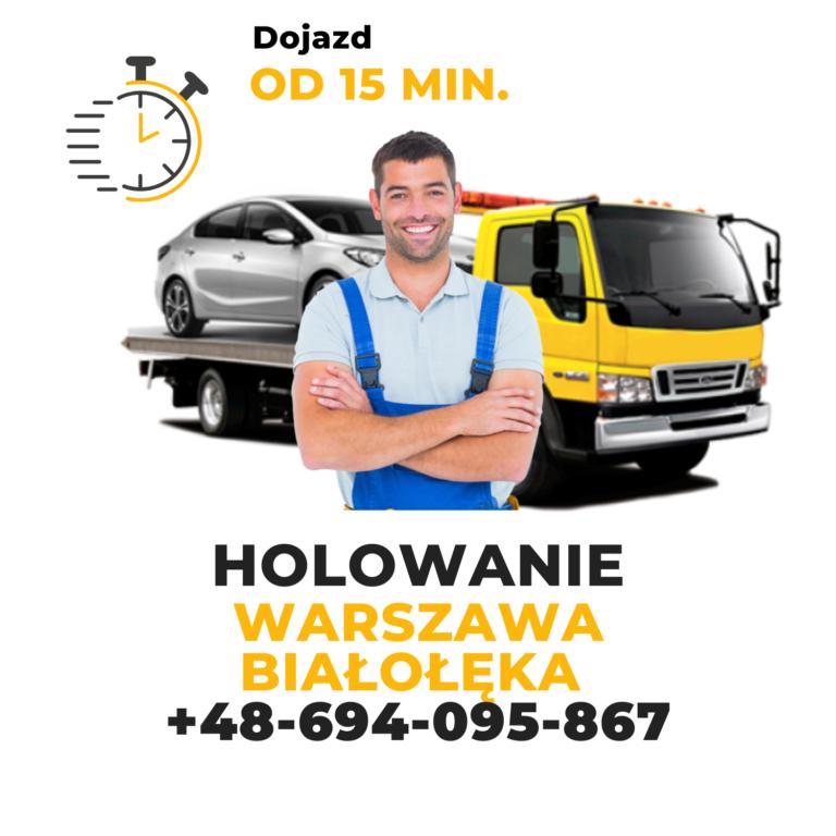 Holowanie Warszawa Białołęka