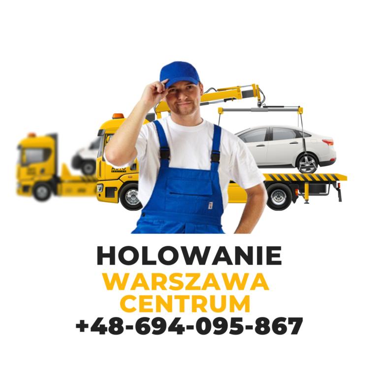 Holowanie Warszawa Centrum