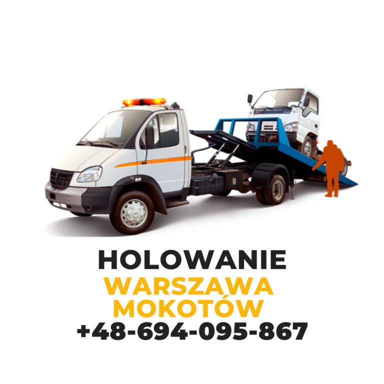 Holowanie Warszawa Mokotów