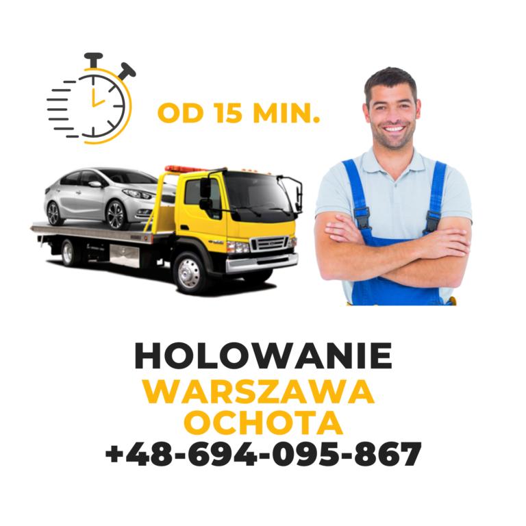 Holowanie Warszawa Ochota