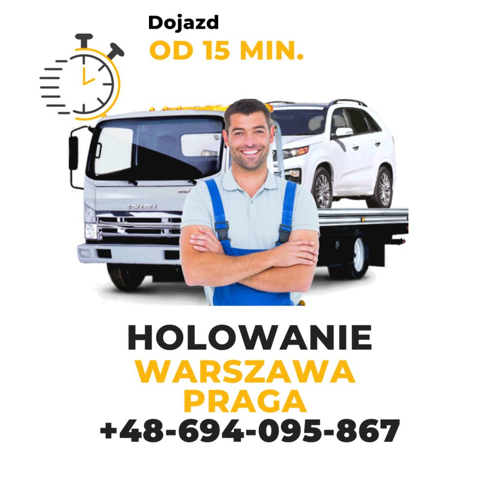 Holowanie Warszawa Praga