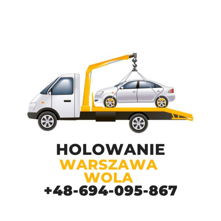 Holowanie Warszawa Wola