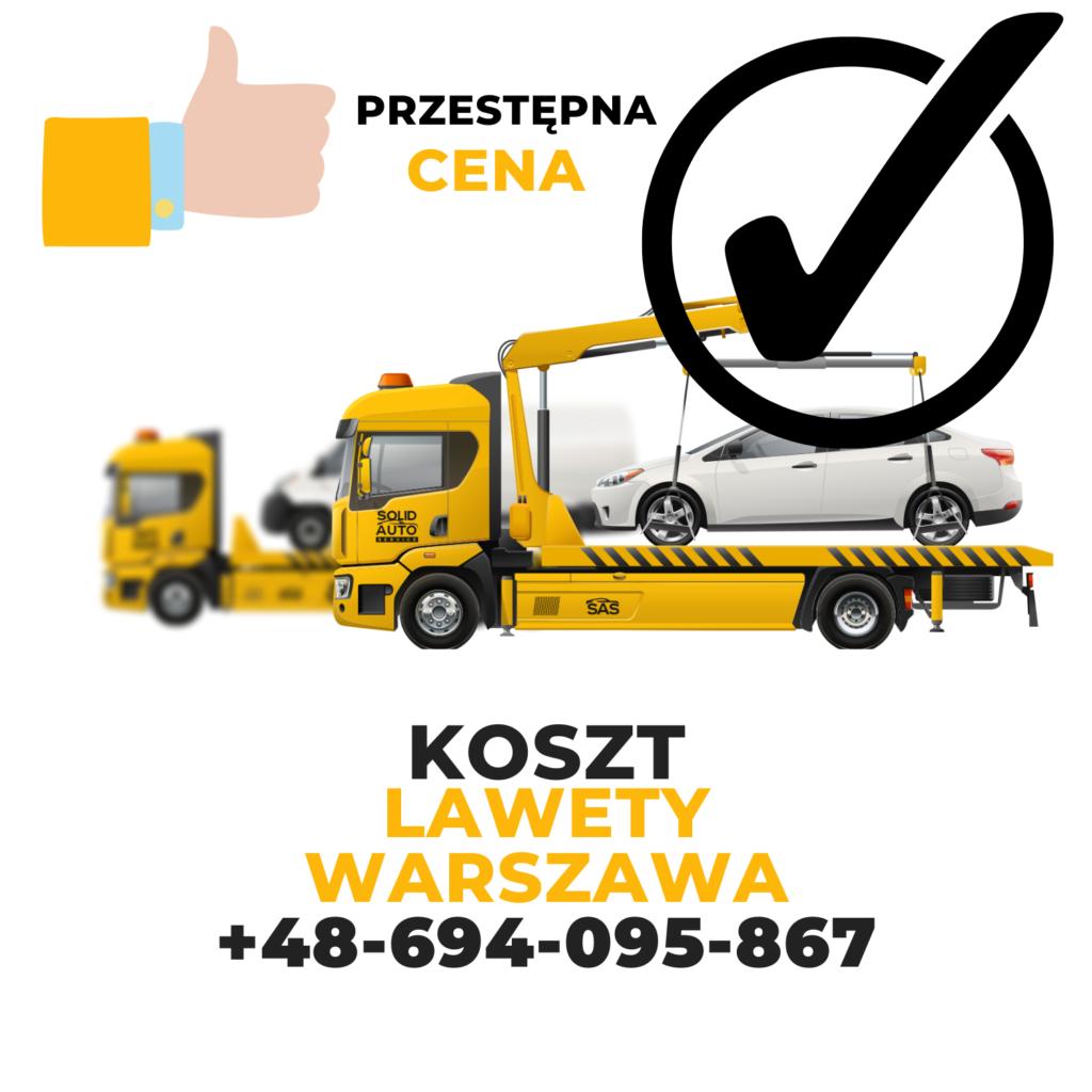 Koszt lawety Warszawa