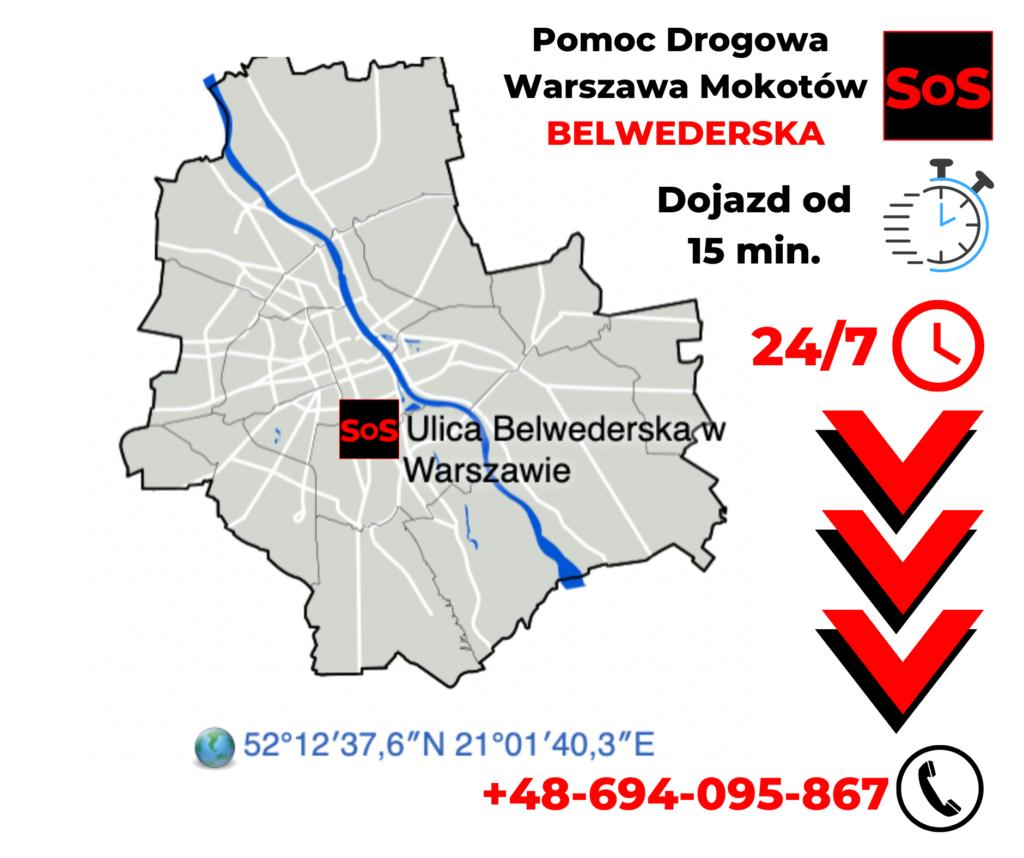 pomoc drogowa Belwederska