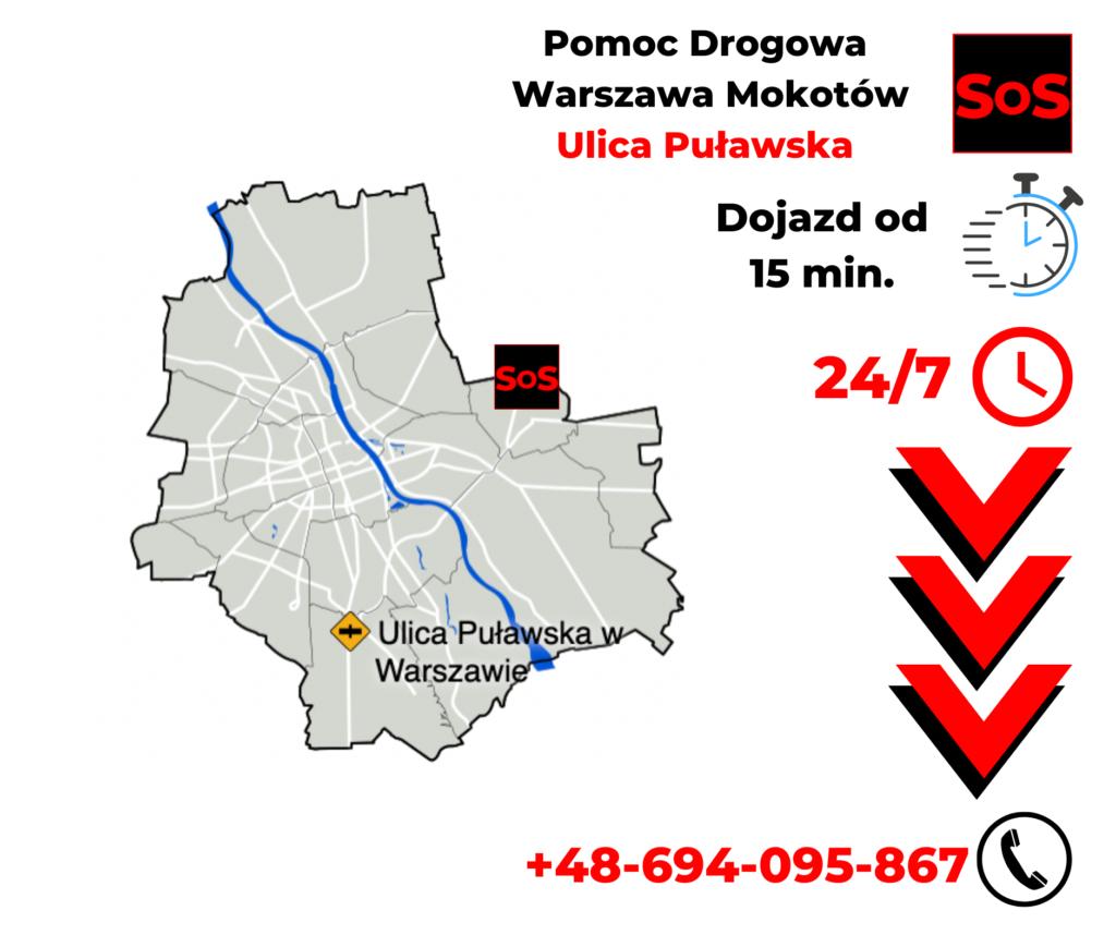 Pomoc drogowa Warszawa Puławska