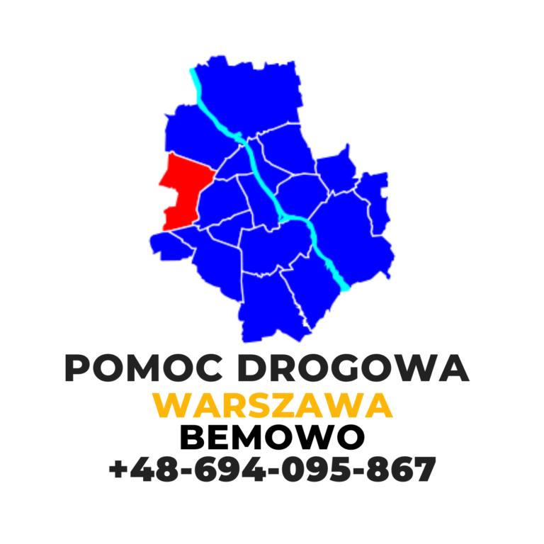 pomoc drogowa Warszawa Bemowo