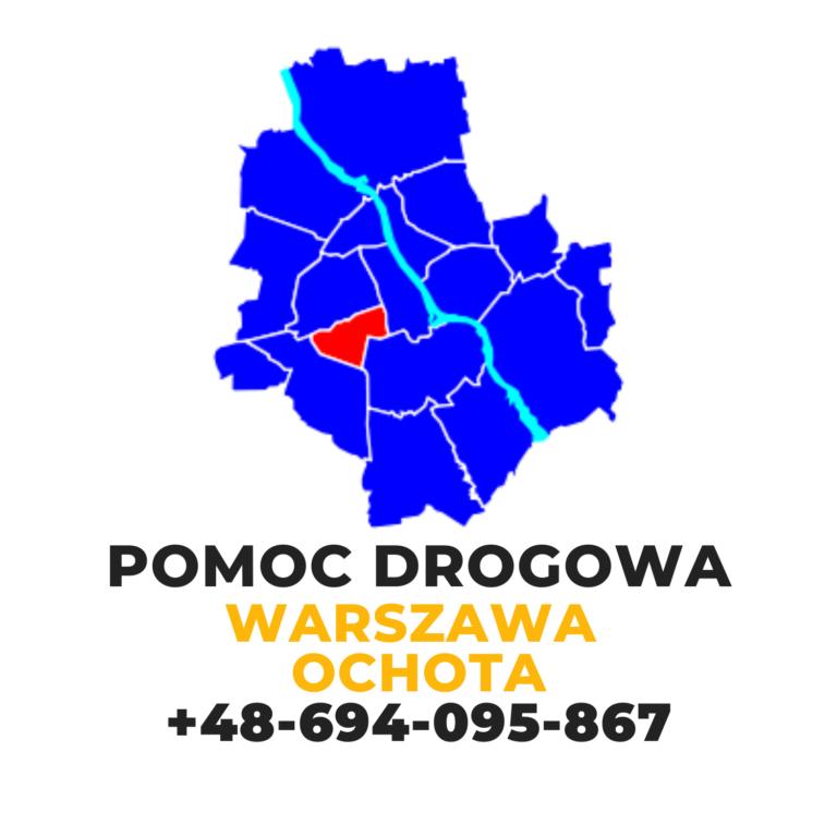 Pomoc drogowa Warszawa Ochota