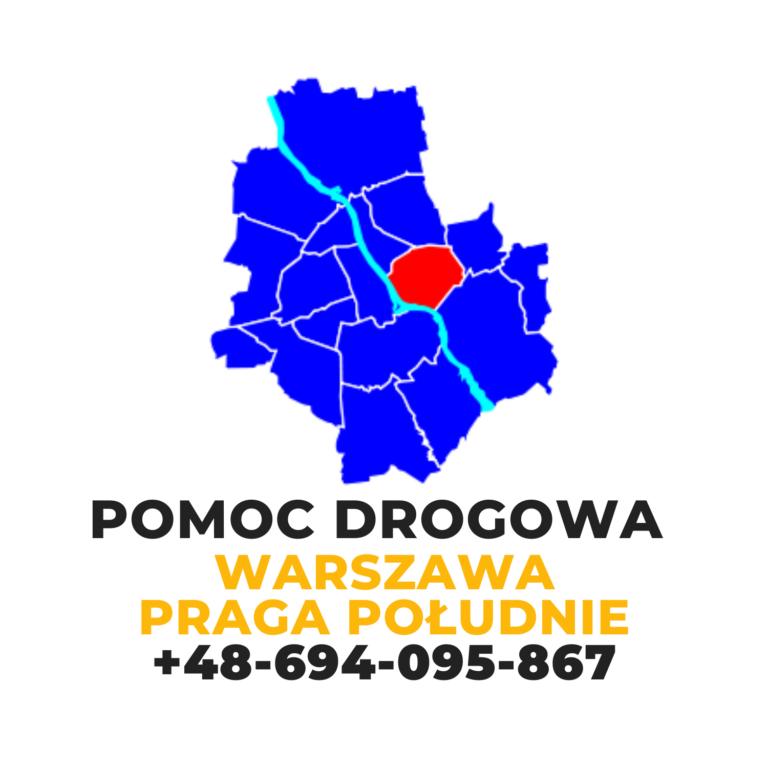 Pomoc drogowa Warszawa Praga Południe