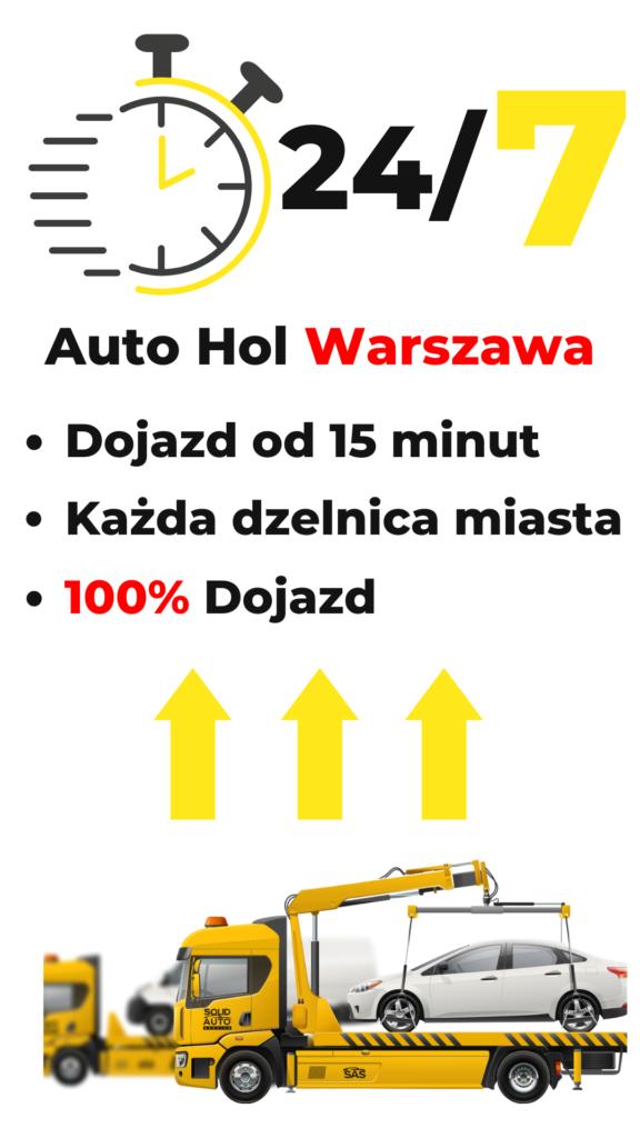 Auto hol w Warszawie