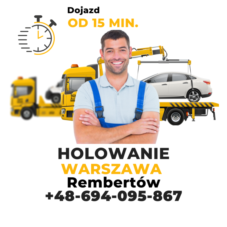Holowanie Warszawa Rembertów