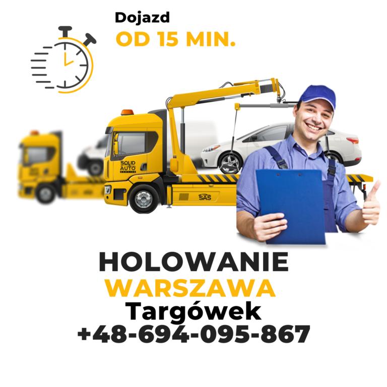 Holowanie Warszawa Targówek