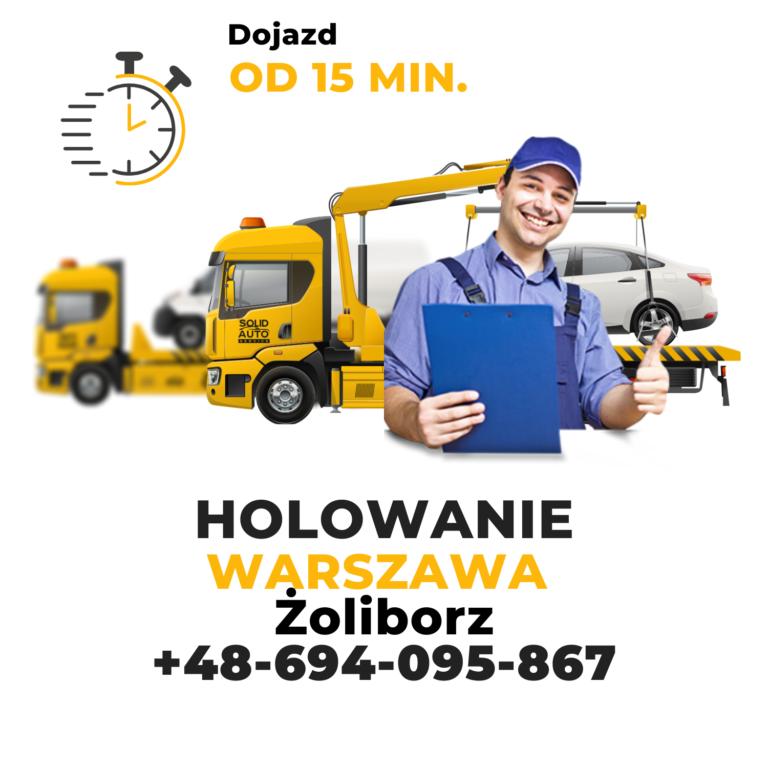 Holowanie Warszawa Żoliborz