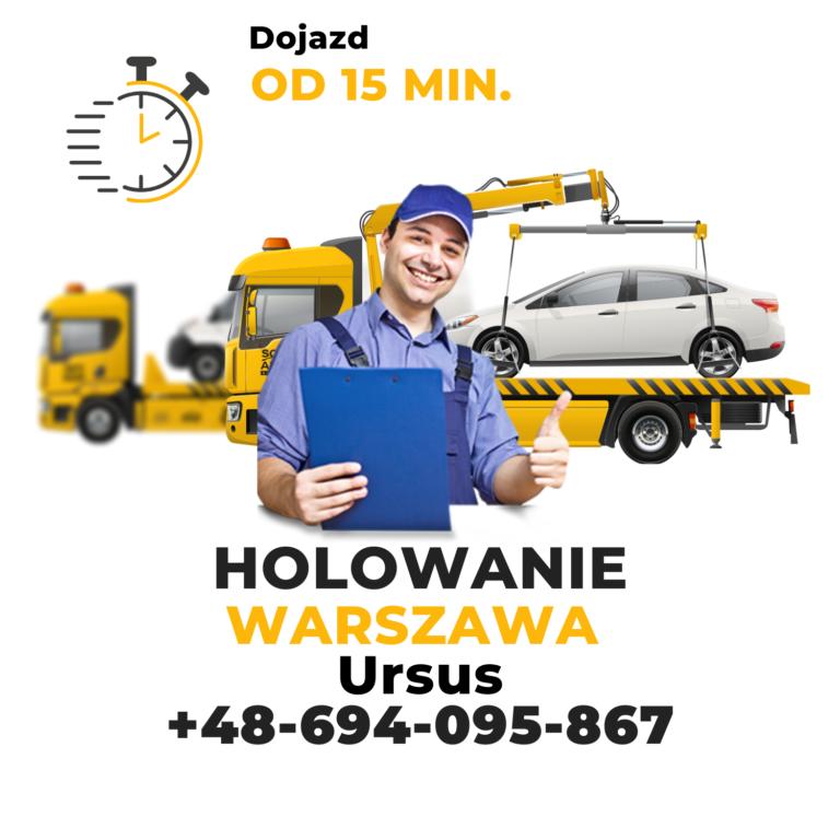 Holowanie Warszawa Ursus