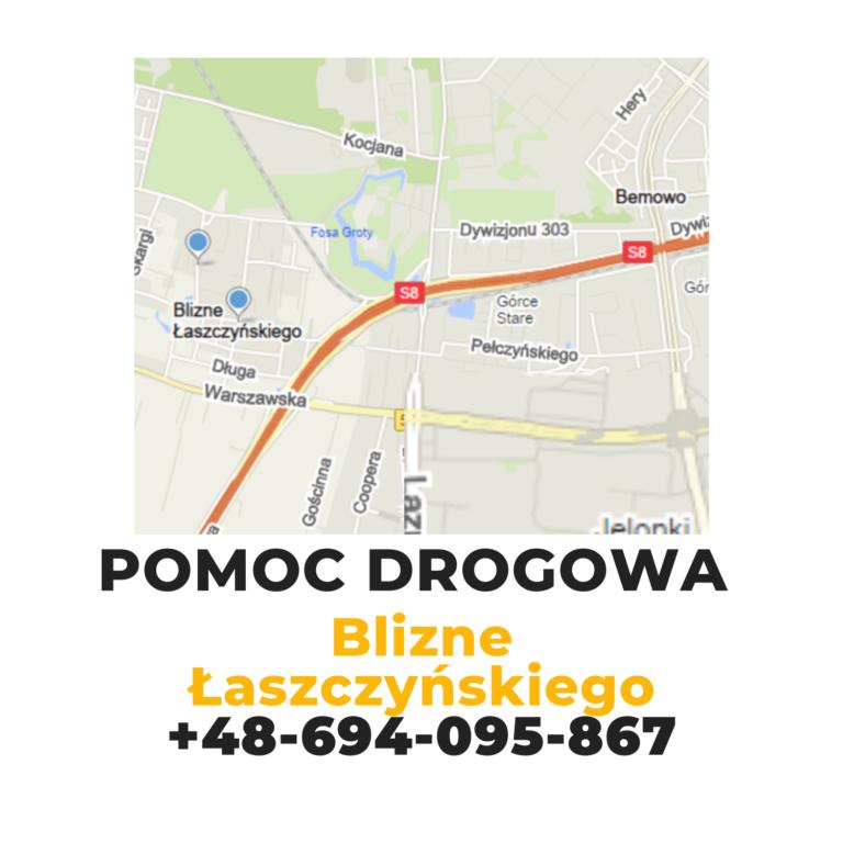 Pomoc drogowa Warszawa Blizne Łaszczyńskiego