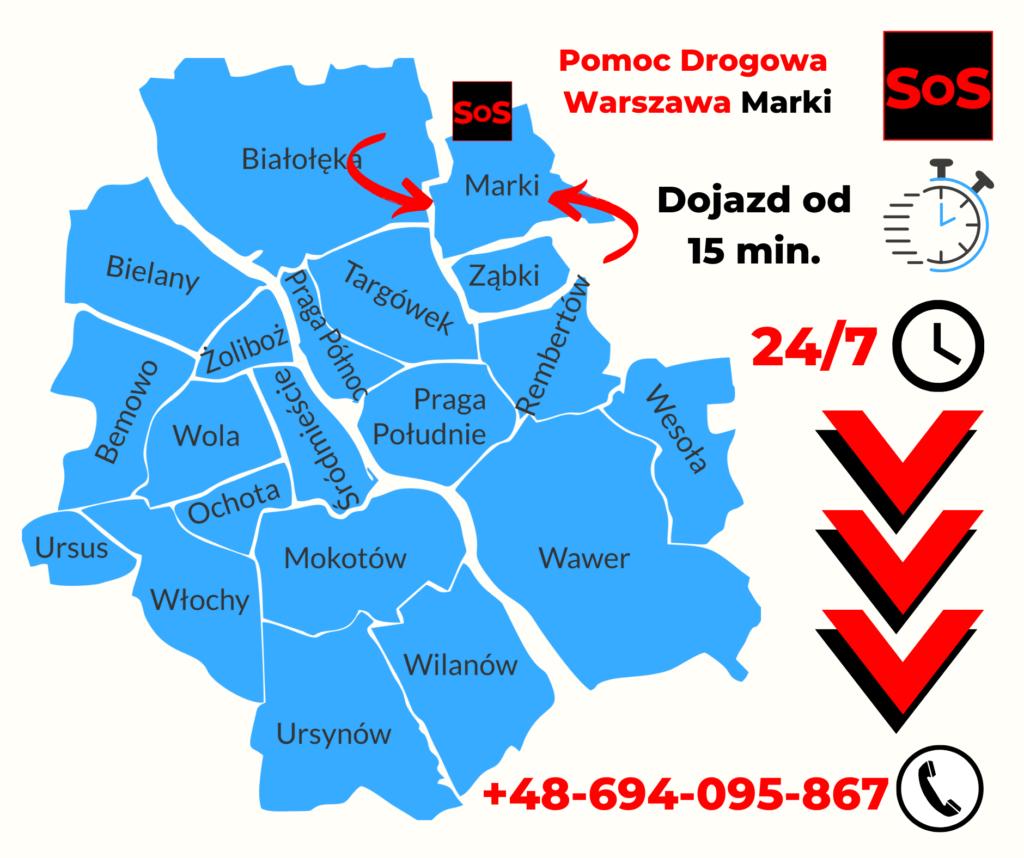 Pomoc Drogowa w Markach