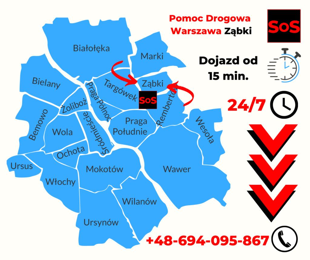 Pomoc Drogowa w Ząbkach