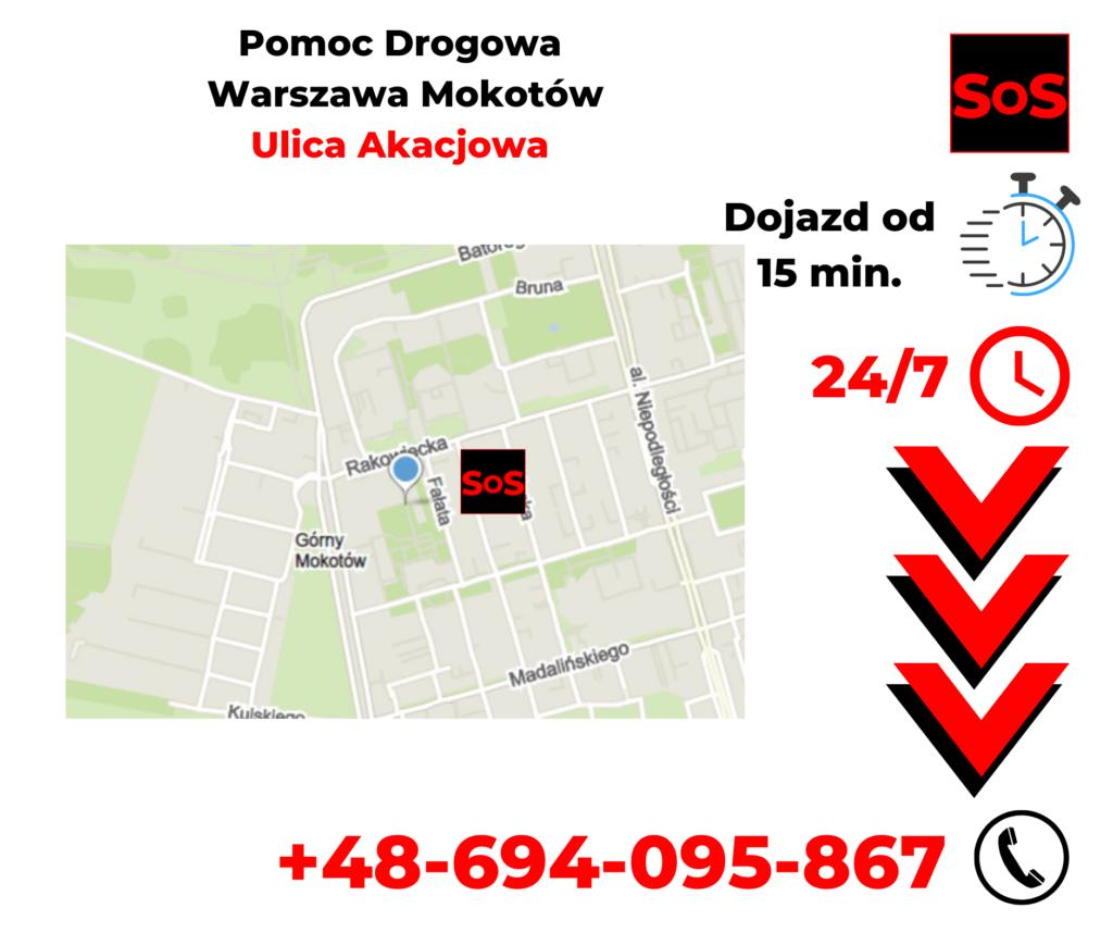 Pomoc drogowa ul. Akacjowa