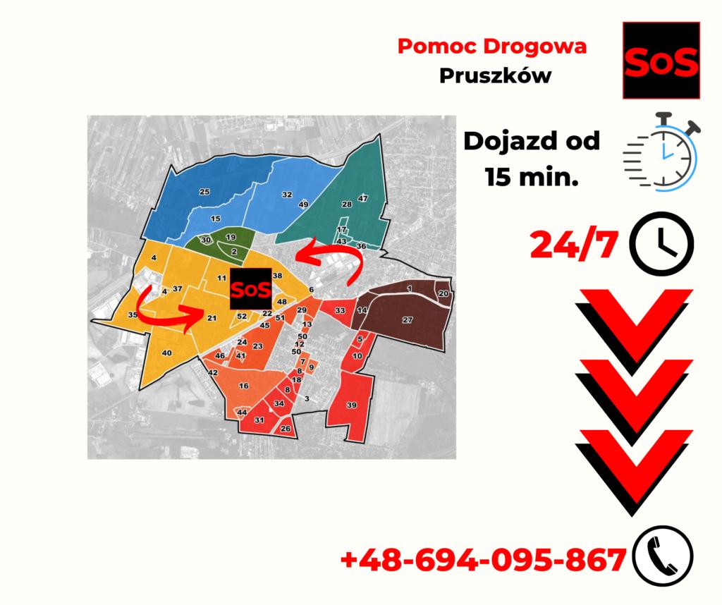 Pomoc Drogowa Warszawa Pruszków
