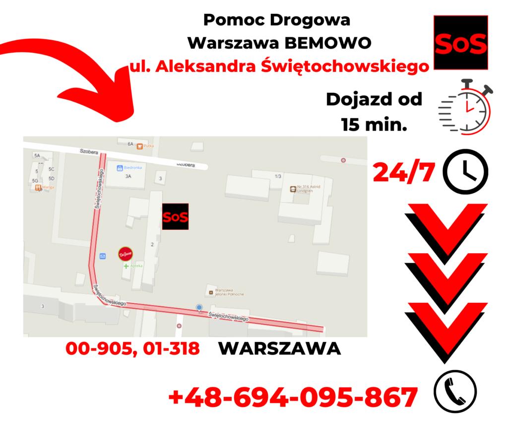 Pomoc drogowa ul. Aleksandra Świętochowskiego