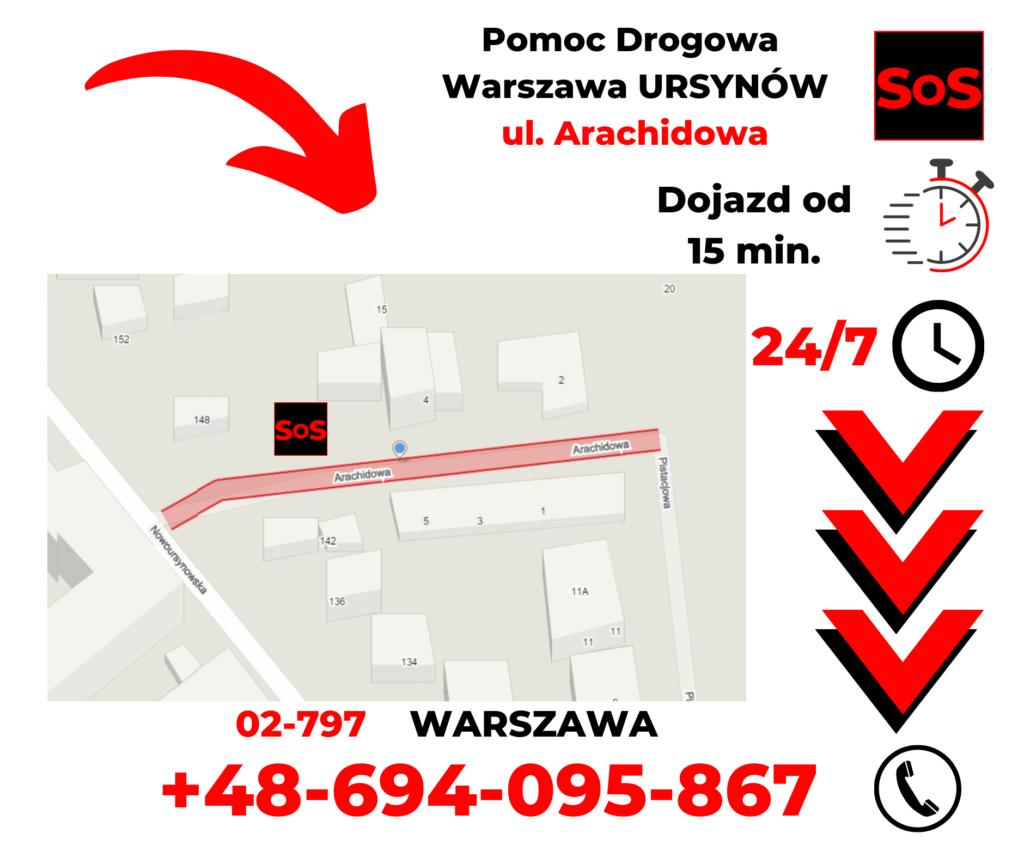 Pomoc drogowa ul. Arachidowa