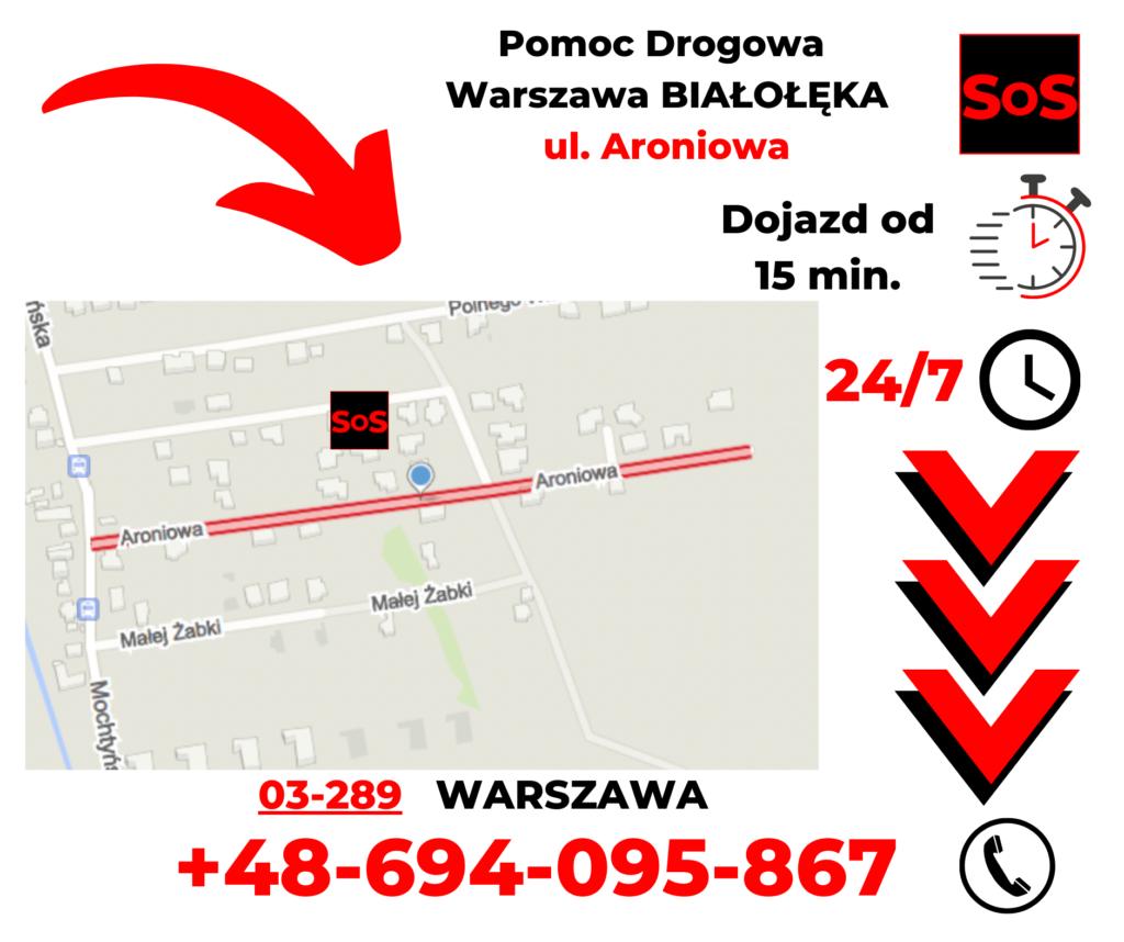 Pomoc drogowa ul. Aroniowa