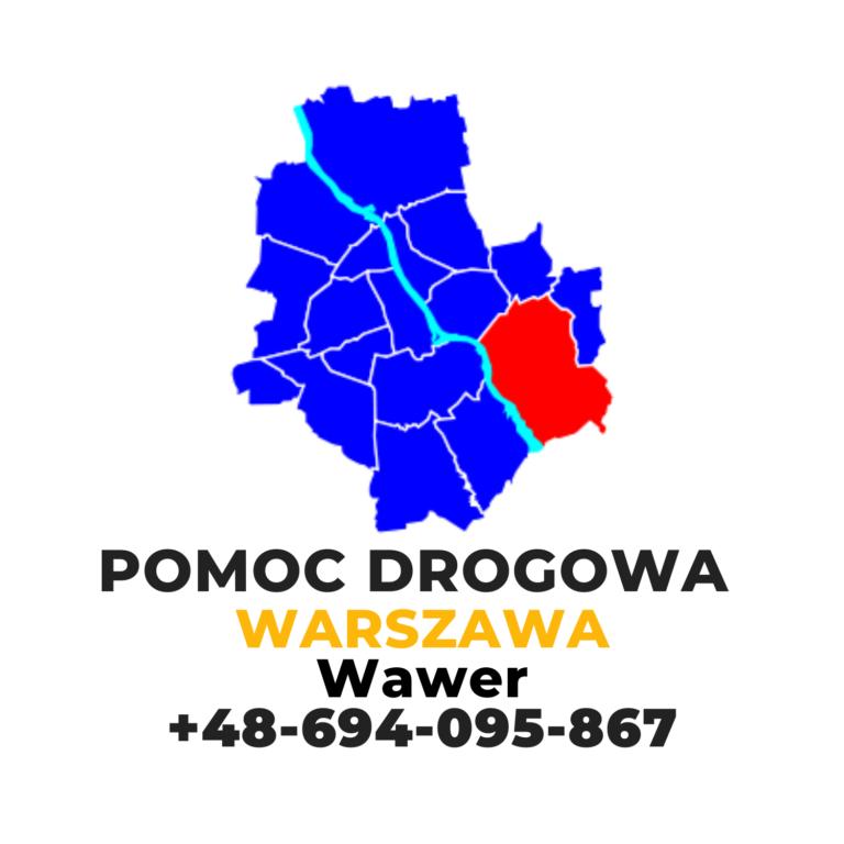 Pomoc drogowa Warszawa Wawer