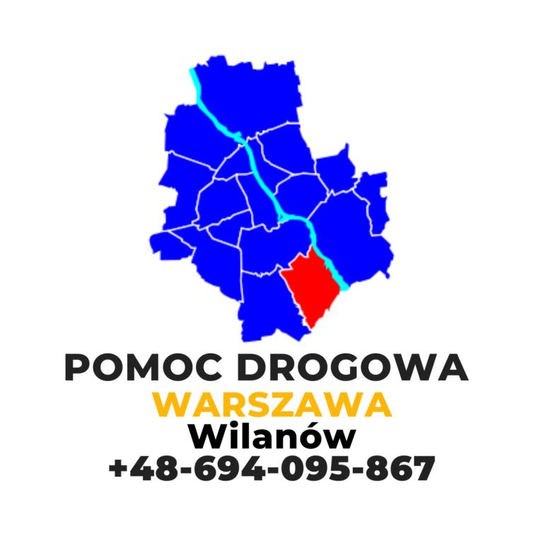 Pomoc drogowa Warszawa Wilanów