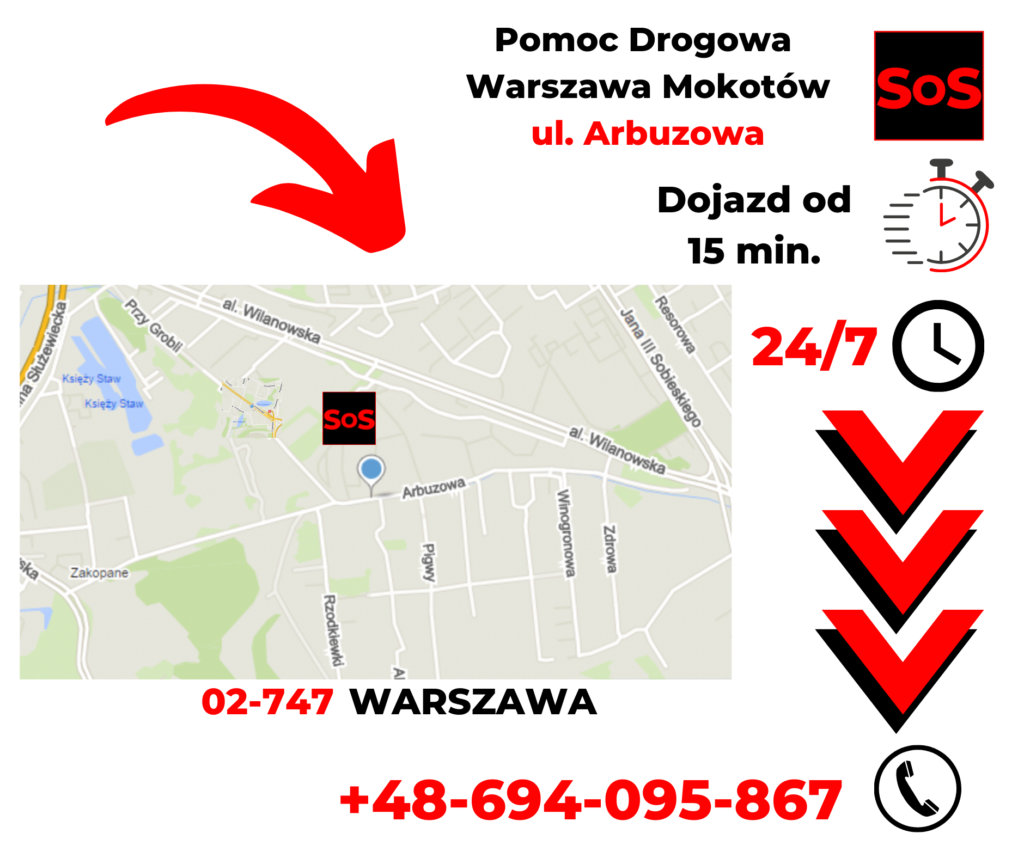 Pomoc drogowa ul. Arbuzowa